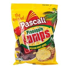 Pascal Pineapple Lumps - 140g - http://bestchocolateshop.com/pascal-pineapple-lumps-140g/