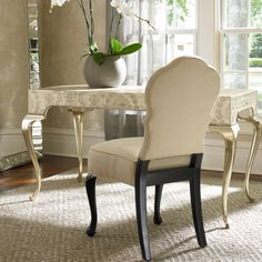 Classically French, my Charlotte Desk features a damask print atop cabriole legs in gold for the ultimate in Parisian style. http://www.maxsparrow.com.au/products/charlotte-desk