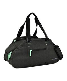 Take a look at this Heather Black Lia Yoga Bag by Sherpani on #zulily today!