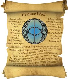Book of Shadows:  #BOS Chalice Well page.