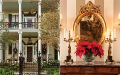 A New Orleans Home Showcases Southern Yuletide Spirit