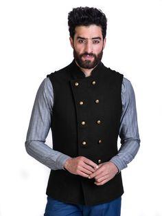 Buy Mens Nehru Jackets Online | Maroon Cotton Nehru Jackets | Mr Button Nehru Jacket For Men, Nehru Jackets, Linen Jackets, Kurta Pajama Men, Kurta Men, Blazer Vest, Vest Coat, Men's Jacket, Mr Button