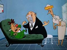 """Sh-h-h-h-h-h (1955)  - Another of my favorite Walter Lantz cartoons, this one directed by Tex Avery. This was Tex's last theatrical cartoon. The soundtrack used is from """"The Okeh Laughing Record"""" from 1923"""