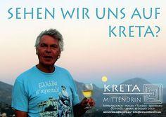 Sehen wir uns auf Kreta? Willy Dorn, Kreta mittendrin