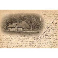 Carte Postale Datée De 1899 La Ferme Cocagne Yport, la ferme de mon arrière -arrière grand-mère