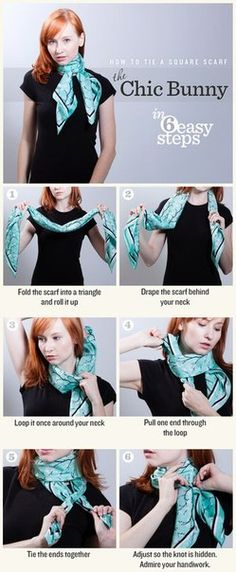 Maybe every woman has one or more scarves. These scarves are a wardrobe staple. They add color, texture, and interest to any outfit, and are the perfect accessory for cooler weather. Try one of these 10 styles of tying your favorite scarf to enhance any style. Video: