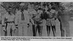Greenwood Lake was fortunate to have a group of people who formed the heart of the community.  These WWII vets were among them. They were our dads, village officials, electricians, and plumbers.  They were our role models.