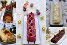Sélection de recettes de Noël sucrées et salées.