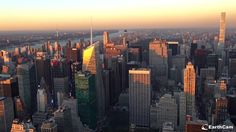 NYC o zachodzie słońca 17.10.2017 San Francisco Skyline, Nyc, Travel, Viajes, Destinations, Traveling, Trips, New York