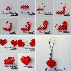 How to Make Heart Shaped Necklace