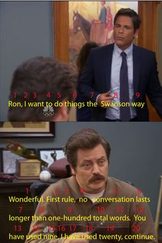 Doing things the Ron Swanson way.