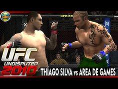 UFC: Area de Games vs Thiago Silva - UFC Undisputed-2010 #3 [PPSSPP]