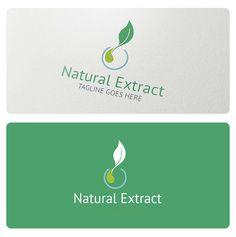 Natural Extract is an elegant logo, highly suitable for Bio Cosmetics, Beauty… Typography Logo, Logo Branding, Medicine Logo, Tea Logo, Skincare Logo, Cosmetic Logo, Fruit Logo, Organic Logo, Elegant Logo