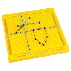 Movable XY Axis Pegboard; geoboard