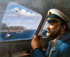 Saint Simons Island Sea Captain