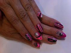 Harley Davidson nails by Sarah