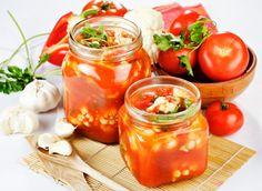 Цветная капуста в томатной заливке на зиму