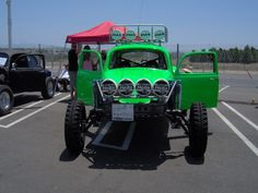 Baja Bug with Hella Lights...sorry, but this is really ugly!!! :)
