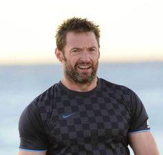 Hugh on Bondi Beach in Australia