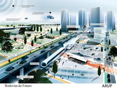 Infográfico mostra futuro intermodal e inteligente da mobilidade urbana