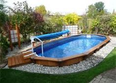 Above ground pool ideas on pinterest deck plans decks for Pool design mistakes