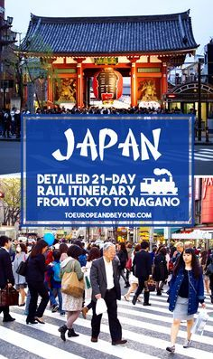 How To Get The Best Out Of A First Trip To Japan: A 21-Day Japan Itinerary