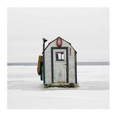 Ice Hut # 535, Joussard, Lesser Slave Lake, Alberta, Canada, 2011 | © 2007-2017 Richard Johnson Photography Inc. | richardjohnsongallery.com