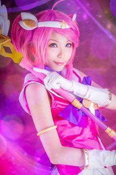 Terri Sang(冰嵐) Star Guardian Lux コスプレ写真 - Cure WorldCosplay