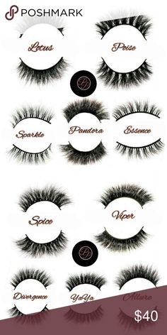 "MinkLashes http://prissyposhext.bigcartel.com ✨Oh So Prissy💋Oh So Posh 💋My Exclusive Luxurious 3D Mink Lashes lasts up to 25 wears or more with proper care 👑 These falsies have the utmost quality! All of my lashes are 100% Mink and 100% Hand Crafted constructed with a band of soft cotton that is double and triple layered!!! You can go from a subtle sophisticated look like the Sparkle or a daring dramatic look like the Pandora 😏 Pick your poison ladies 😍✨ ""cheaper online"" Prissy Posh…"