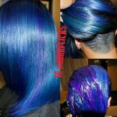 26 ideas for hair tips dyed blue Hair Tips Dyed Blue, Hair Dye Tips, Dyed Hair, Bold Hair Color, Hot Hair Colors, Beautiful Hair Color, Short Hair Cuts, Short Hair Styles, Trendy Hairstyles