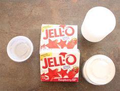 Jell-O shots : étape 1 de la recette