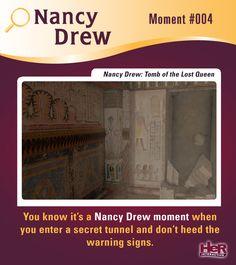 Nancy Drew Moment