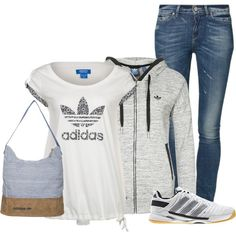 """Adidas"" by woolycat on Polyvore"