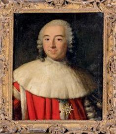 Marquis Etienne-François d'Aligre (1727 - 1798), Premier Président au Parlement de Paris.