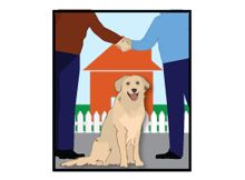 rover.com - hooks up dog-sitters with dog owners.