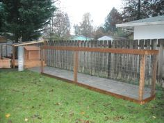 We used a simple fence construction method.  The wire fence was first stapled to the vertical posts. Next, the horizontal boards were screwed on.  Finally, the wire fence was stapled to the back of the horizontal boards.  This was nearly impossible for one person but worked very smoothly for two people.