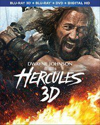 Caratulas de CD y DVD: Hercules (Blu-ray 3D + Blu-ray + DVD + Digital HD)