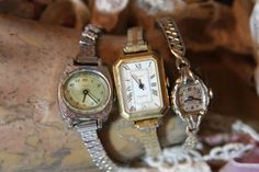 Vintage WRISTWATCH Lot for Art Projects or by VintageSupplyCo, $18.00