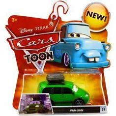 Disney / Pixar CARS TOON 1:55 Scale Die Cast Car Van San Mattel by Mattel. $7.99