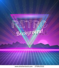 Image result for retro tron