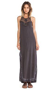 wildheart Shanti Maxi Dress in Grey | REVOLVE