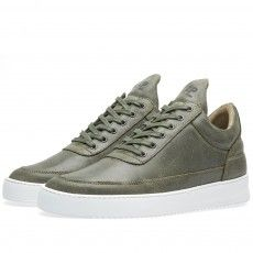Filling Pieces Low Top Sneaker (Fundament Green)