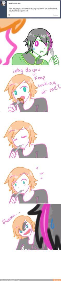 Ren where's the sugar???