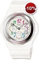 Casio Womens Baby-G Gem Dial Analog Sport Watch: Travel Watches G Watch, Casio Watch, Modern Watches, Cool Watches, Wrist Watches, Ladies Watches, Casio Baby G Shock, Thing 1, G Shock White