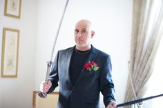 "DR M Loves A ""Kill Bill"" Katana Sword To Stay Sharp!"