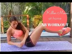 6 KILLER MOVES AT HOME AB WORKOUT - YouTube