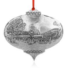 Kennywood Thunderbolt Ornament