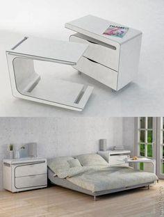 design de interiores - Móveis funcionais que respeitam a falta de espaço nos apartamentos contemporâneos