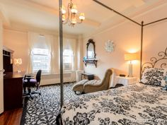 Dream in damask as you drift away in #NYC. #Rent this #furnished #roommate #share for a rental experience beyond your wildest dreams!