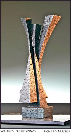 Waiting in the Wings - Sculpture by Richard Arfsten